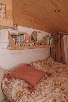 Van Tour — Slow 'n Steady Livin Bus Living, Tiny House Living, Van Life, Van Interior, Interior Design, Wolkswagen Van, Kombi Home, Caravan Home, Diy Caravan