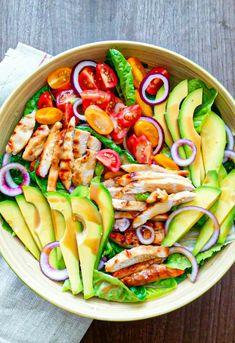 Kung Pao Chicken, Pasta Salad, Salads, Lunch Box, Menu, Yummy Food, Healthy Recipes, Vegan, Cooking