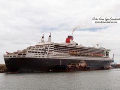 Fotos del Queen Mary 2 en Las Palmas de Gran Canaria