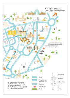 How Infographics Work Refferal: 7672187615 Campus Map, Leaflet Design, Tourist Map, Web Design, Map Vector, Design Graphique, Vintage Maps, City Maps, Map Art