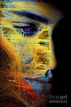 Mistery Digital Art by Rafael Salazar