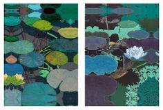 Friedlander, Water Lilies, Set of Two | Statement Pieces | One Kings Lane