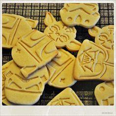 Galletas Working Galletas cookies Star Wars Home Made