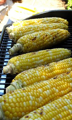 corn on the cob... bbq summer food!