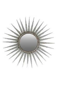 Multi-Point Framed Mirror