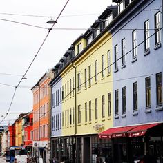 Streets in Oslo