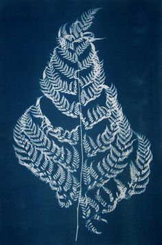 cyanotype fabric. Try flour paste batik idea or temporary adhesive on other detailed flat objects.