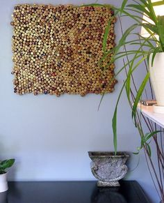cork tile: Green Design and Why You Should Use it...i've got PLENTY of these to cover an entire wall. LOL