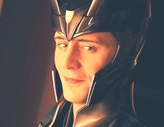 Loki smile, it has me drooling.