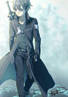 What anime do you recommend if I like the OP badass-while-calm main character? - What anime do you recommend if I like the OP badass-while-calm main character? Kirito Sao, Kirito Kirigaya, Sword Art Online Asuna, Schwertkunst Online, Online Anime, Espada Anime, Sao Anime, Sword Art Online Wallpaper, Anime Kunst