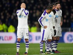 Shelvey, Dwight Gayle and Yoan Gouffran all failed to find the net to suffer shootout disappointmentat the KCOM Stadium