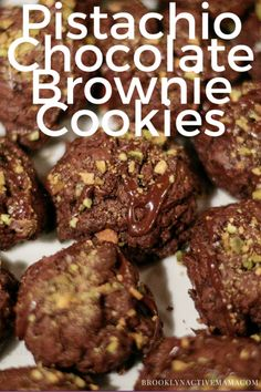 Chocolate Pistachio Brownie Cookie Recipe