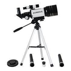 Aomekie AO2001 300x70mm Terrestrial Astronomical Refractor Telescope with Tripod Telescope for Beginners * Details can be found at
