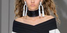 Proenza Schouler Sculptural Earrings, Spring-Summer 2017
