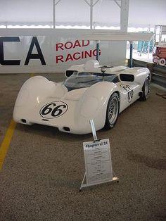 The Chaparral 2E - Winner at Laguna Seca 1966