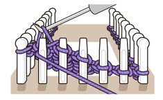 Loom Tutorial: Wrap and Turn Process Sock Loom Tutorial: Wrap and Turn Process Sock Loom Tutorial: Wrap and Turn Process. Sock Loom Tutorial: Wrap and Turn Process Sock Loom Tutorial: Wrap and Turn Process. Sock Loom Original with DVD Loom Knitting Stitches, Knifty Knitter, Loom Knitting Projects, Basic Crochet Stitches, Knitting Socks, Knit Socks, Knitting Ideas, Sock Loom Patterns, Loom Board