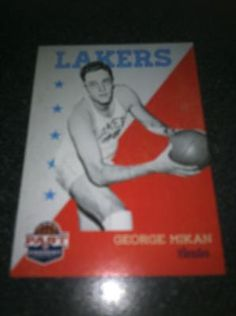 George Mikan Brand New * 2011-12 Past & Present * NBA Basketball Card Los Angeles Lakers Free Ship  $2.00