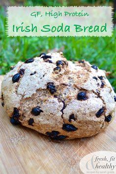 Fresh Fit N Healthy – GF High Protein Irish Soda Bread