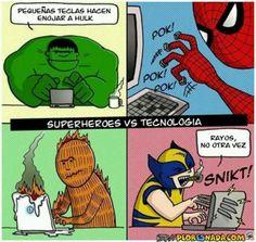 Superpoderes vs Tecnología