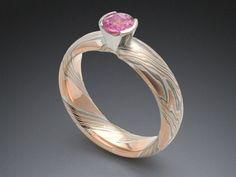 Mokume Gane Rings and Jewelry from James Binnion Metal Arts. - Unique Mokume Wedding Bands, Mokume Engagement Rings, Mokume Wedding Rings by James Binnion.