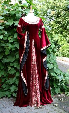 Medieval Wedding or Party Gown
