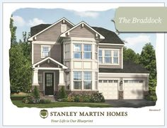 Stanley martin homes addison model