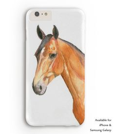 Bay Horse Head Equestrian Phone Case - The Painting Pony