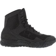 Under Armour Valsetz RTS Duty Boots have the high tech features you'd expect from Under Armour. They're perfect for everyday patrol or tactical operations! All Black Sneakers, High Top Sneakers, Duty Boots, Under Armour Men, Black 7, Color Black, Color Negra, Tactical Gear, 5 D