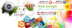 In reality websites have much more to deal with apart from simply informing its people about the services. www.zinavo.com