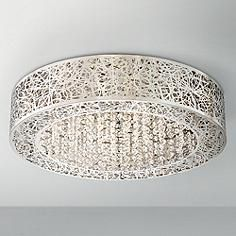 "Close To Ceiling Lights Captivating George Kovacs Bling Bling 14"" Wide Flushmount Ceiling Light  Home Design Inspiration"