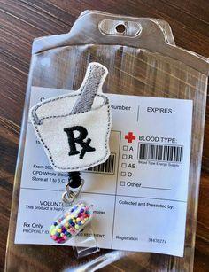 Mortar and Pestle Prescription Pharmacy Tech Retractible Badge | Etsy Pharmacy Quotes, Pharmacy Humor, Funny Nurse Quotes, Nurse Humor, Nursing Memes, Nursing Quotes, Funny Nursing, Pharmacy Technician Study, Tech Quotes