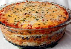 Mexican Layer Chicken bake - Real Recipes from Mums