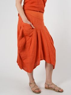 e9240b9c2a Pocket Skirt by INIZIO Skirts With Pockets