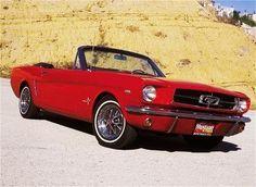 1964 Mustang convertable.