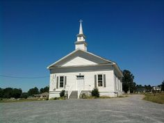 Old church in Euharlie GA