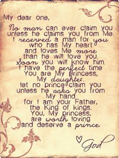 I need to hang this above each girls bed :)  Don't settle for anything less, but you must be a princess too :)