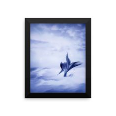 The Storm Mermaid Framed Print