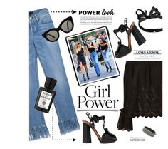 """Girl Power"" by barngirl ❤ liked on Polyvore featuring Birds of Paradis, 3x1, Mateo, Dolce&Gabbana, Victoria Beckham, Acqua di Parma, Repossi and Tiffany & Co."