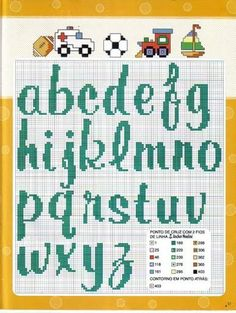 Solo Patrones Punto Cruz (pág. 566) | Aprender manualidades es facilisimo.com                                                                                                                                                                                 Más Fuse Bead Patterns, Beading Patterns, Stitch Patterns, Alphabet Templates, Cross Stitch Letters, Needlepoint Stitches, Alphabet And Numbers, Embroidery Fonts, Fuse Beads