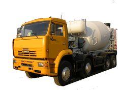 Автобетоносмеситель КАМАЗ модель 58142W (ABS-12К)