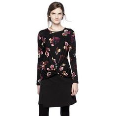 f9867eca03 Thakoon for DesigNation Floral Knot-Front Top - Women s