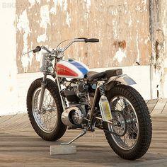 Eye Candy - 66 Motorcycles - Custom 66 Streetracker & Cafe Racer