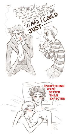 Johnlock.... oh lawd....this hiatus crap is getting old D: