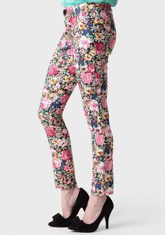 Secret Garden Cropped Skinny Pants | Modern Vintage New Arrivals