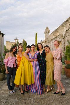 Vogue wedding - Jewelry Designer Caitlin Mociun Wore Bold Stripes for Her Puglia Wedding – Vogue wedding Vogue Wedding, Look Fashion, Fashion Design, Classy Fashion, Men Fashion, High Fashion, Look Vintage, Vintage Vogue, Vintage Fashion