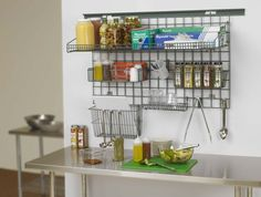 ENDLESS POSSIBILITIES are achieved with Metro's SmartWall G3 Productivity… Wall Shelving Systems, Janitorial Supplies, Wall Mount Bracket, Wall Mounted Shelves, Wine Storage, Wine Rack, Food Service, Meet, Cook