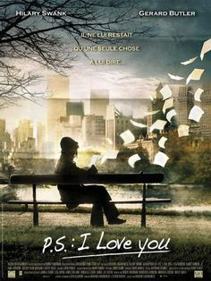I love you- Hilary Swank, Gerard Butler Great Films, Good Movies, Movies To Watch, Girly Movies, Gerard Butler, See Movie, Movie Tv, Ps I Love You, My Love