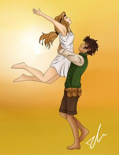 Caleo by JinGi.deviantart.com on @deviantART - i really hope he finds the island again, and i hope they both get off<<< gurl bye. havw you not even READ THE BLOOD OF OLYMPUS<<<< omg yes