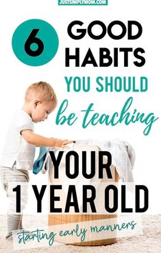 Teaching good habits starts early for a child. They will learn when they are babies and toddlers how to have manners. Here are tips to teach them early. Informations About 6 Good Habits You Should Be Parenting Toddlers, Parenting Hacks, Parenting Classes, Parenting Quotes, Parenting Plan, Parenting Styles, Teaching Empathy, Teaching Kids Respect, Thing 1