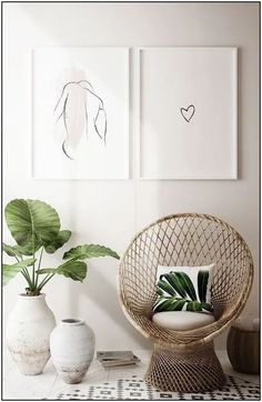 Minimalist Home Interior Design Ideas With A Smart Living Concept - Minimalist house design, with little or no and easy furnishings, has impressed many individuals. Many a time the way in which we Minimalist Home Interior, Minimalist Decor, Home Interior Design, Minimalist House, Interior Livingroom, Interior Modern, Scandinavian Interior, Interior Paint, Minimalist Design